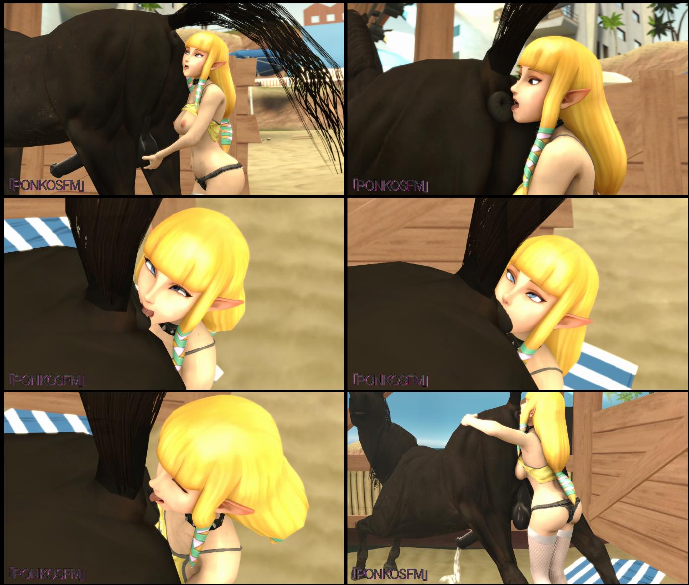 Rimming Horse